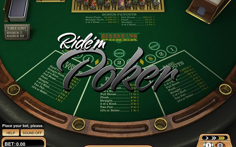 Ride M Poker Playbetr